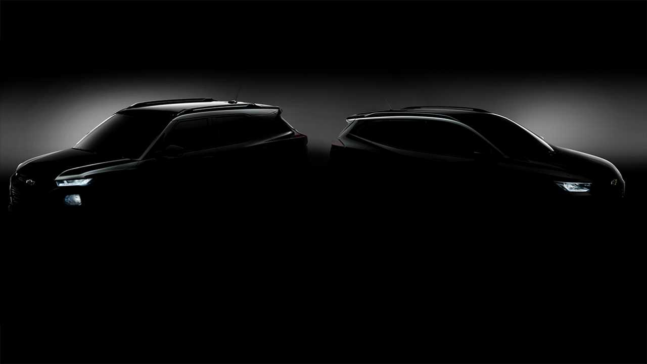 Chevrolet Trailblazer e Tracker 2020 - Teaser