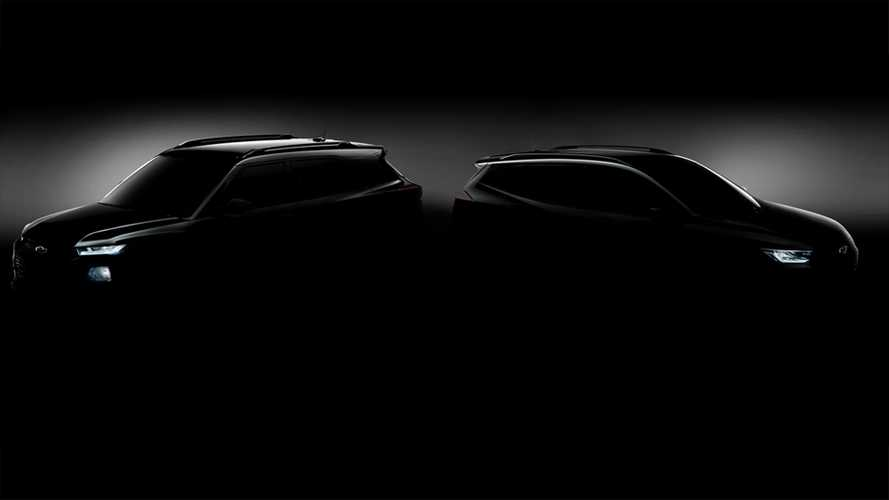 Chevrolet Trailblazer e Tracker 2020 - Teaser