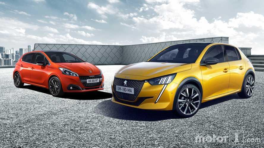 Der neue Peugeot 208 und sein Vorgänger im Vergleich