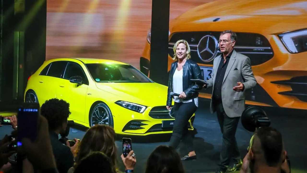 Mercedes-AMG A 35 no Mercedes Night