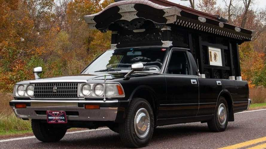 Toyota Crown hearse for sale on eBay