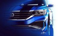 Teaser Volkswagen Passat 2020