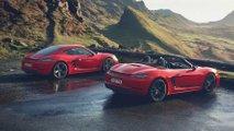 Neuer Porsche 718 Boxster T und Cayman T: Ein Hauch Purismus