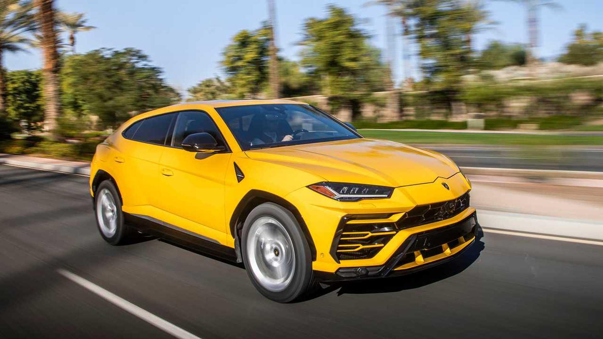 5. Lamborghini Urus