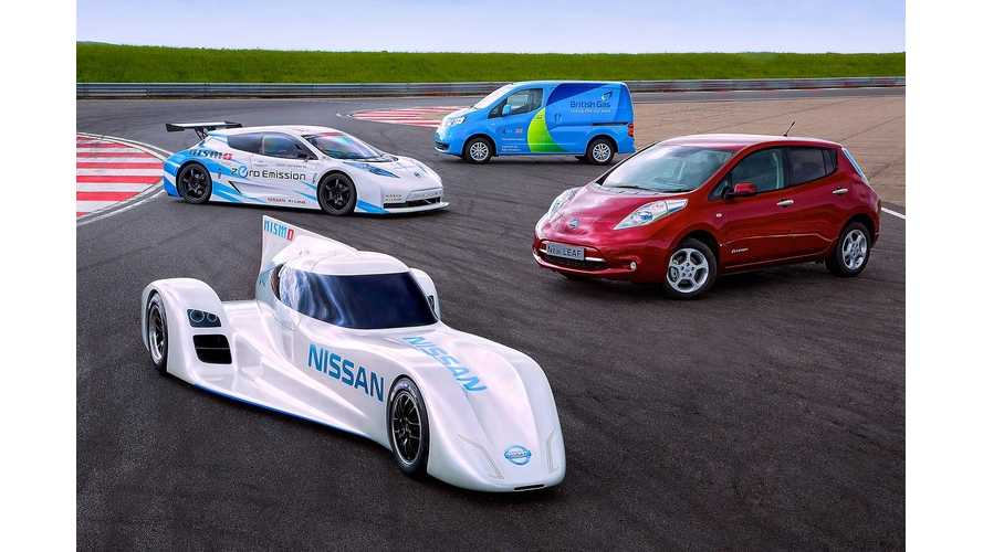 Nissan Confirms Addition Of Two New Plug-In Vehicles To Future Lineup - Inductive Charging For All