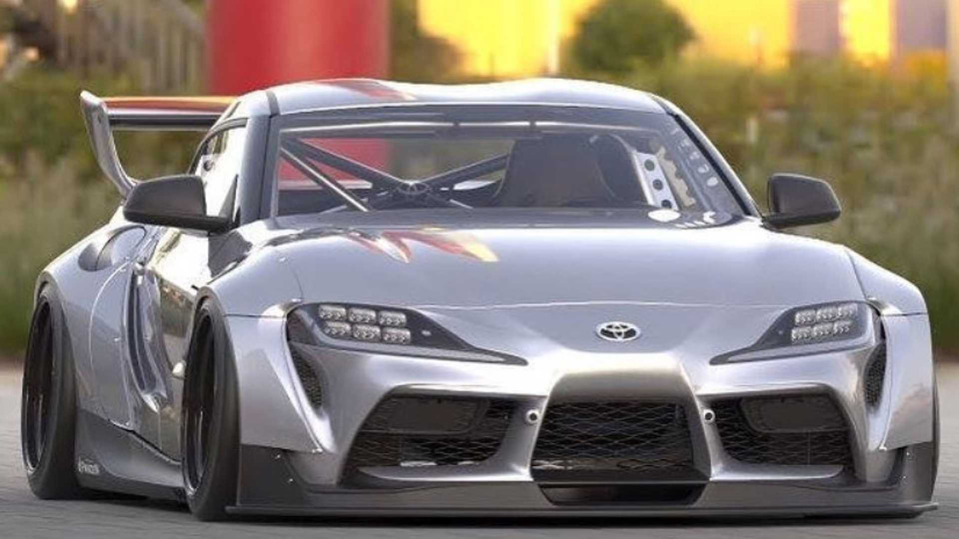 New Toyota Supra Getting Outrageous Widebody Kit