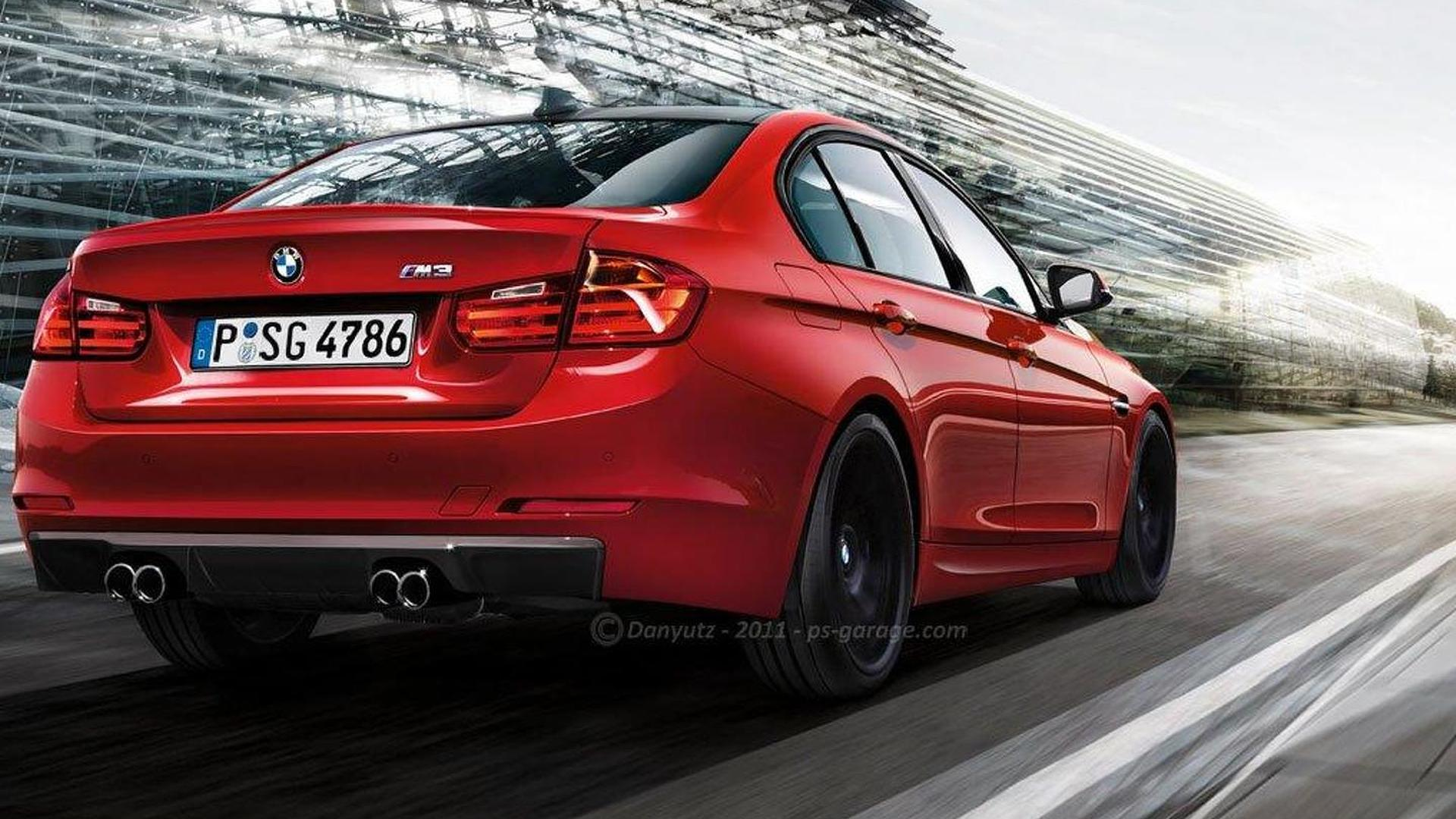 2014 Bmw M3 And 3 Series Coupe Rendered