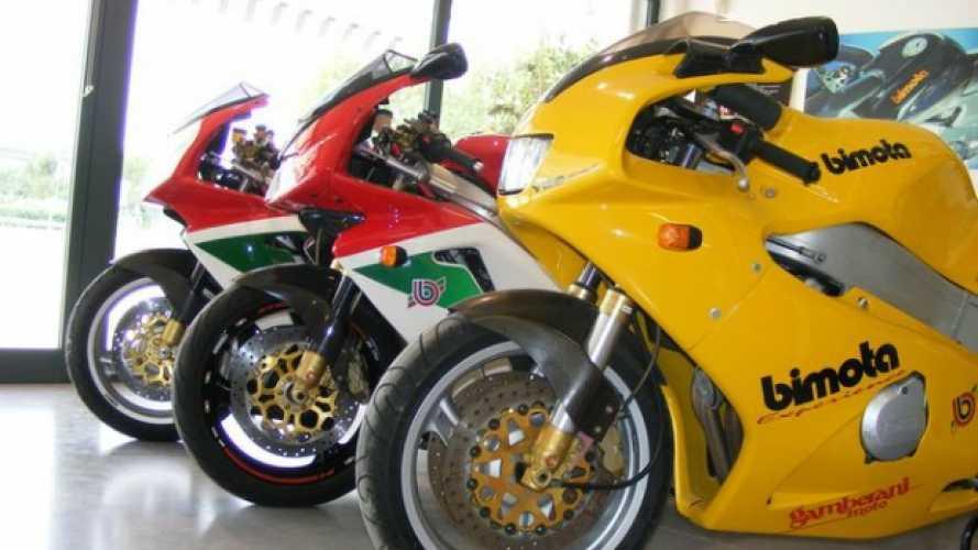 Le Bimota classiche arrivano al Coupes Moto Legende