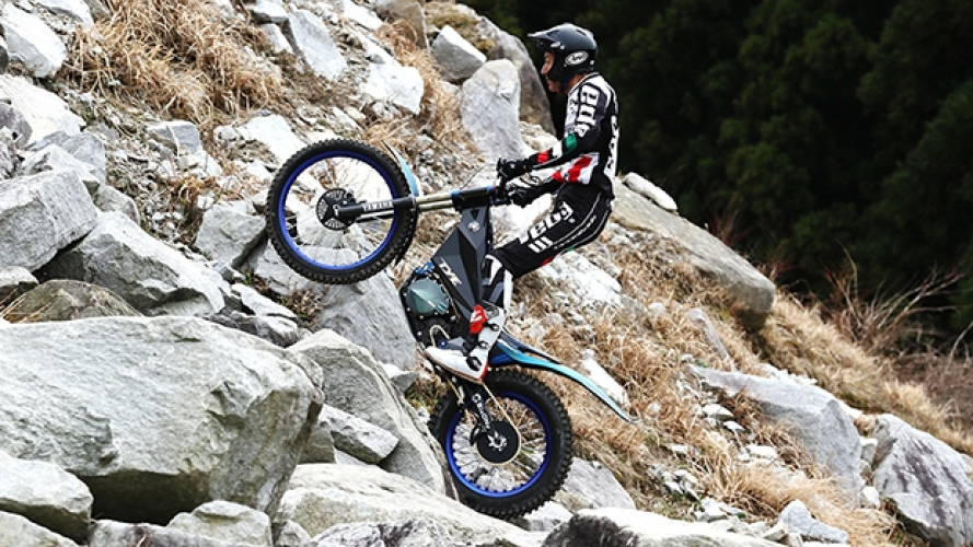 Yamaha TY-E, la prima moto elettrica da Trial