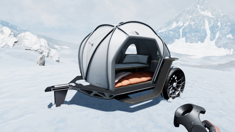 BMW-The North Face, il moto-trailer del futuro