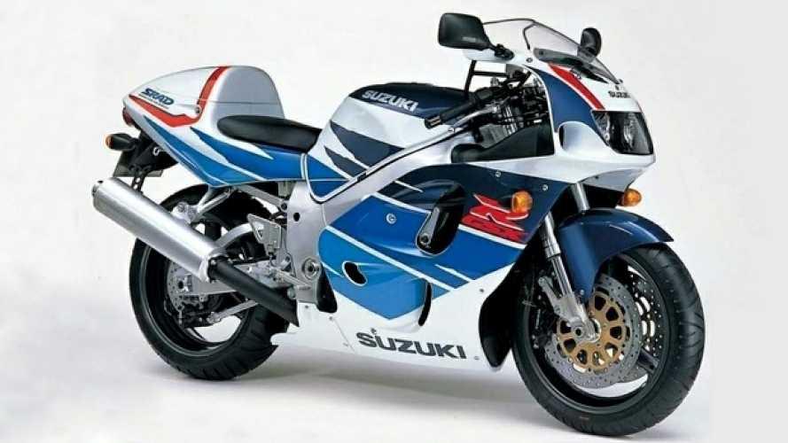 Suzuki GSX-R 750 'SRAD': la rivoluzionaria