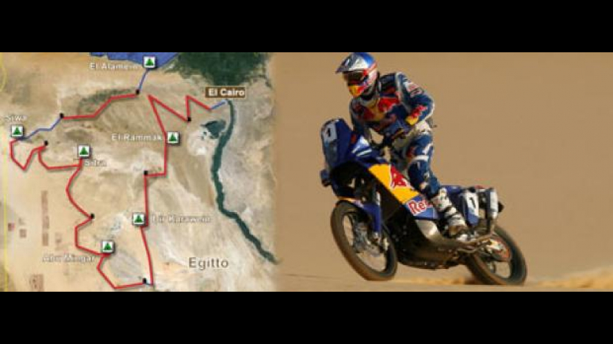 """Pharaons Rally 2010 con road-book """"d'autore"""""""