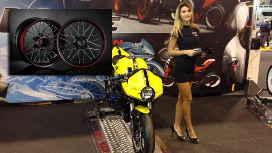 Ruote Borrani al Motor Bike Expo 2014