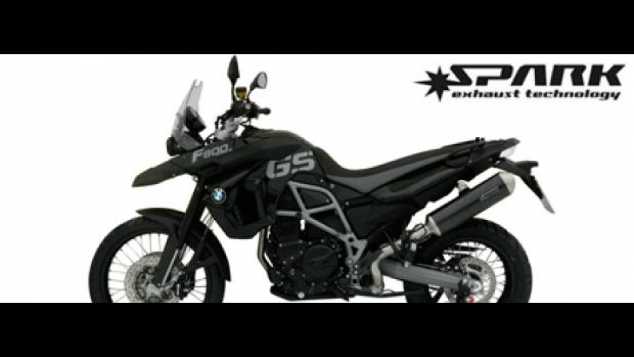 Spark Exhaust Technology: nuovo terminale per BMW F 800 GS