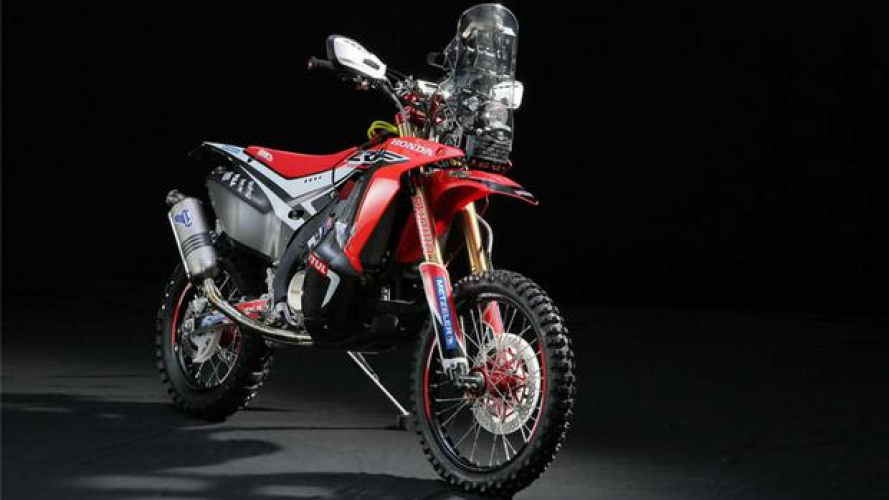 Honda: CRF450 Rally 2014