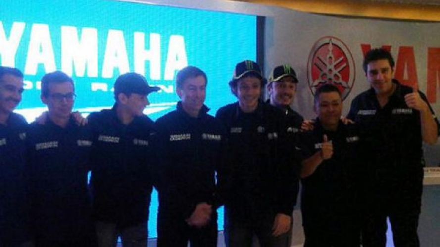 Valentino Rossi e Jorge Lorenzo in Indonesia per Yamaha