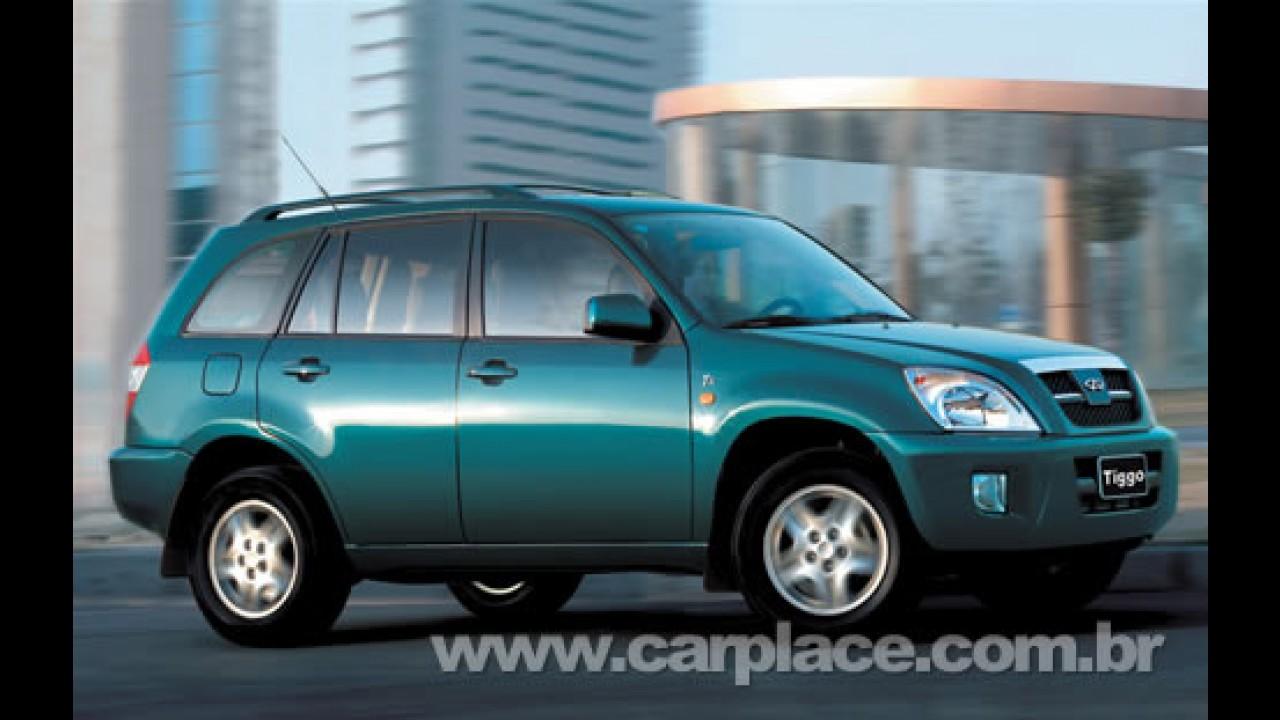 Mais um chinês: SUV Chery Tiggo pode chegar no segundo semestre ao Brasil