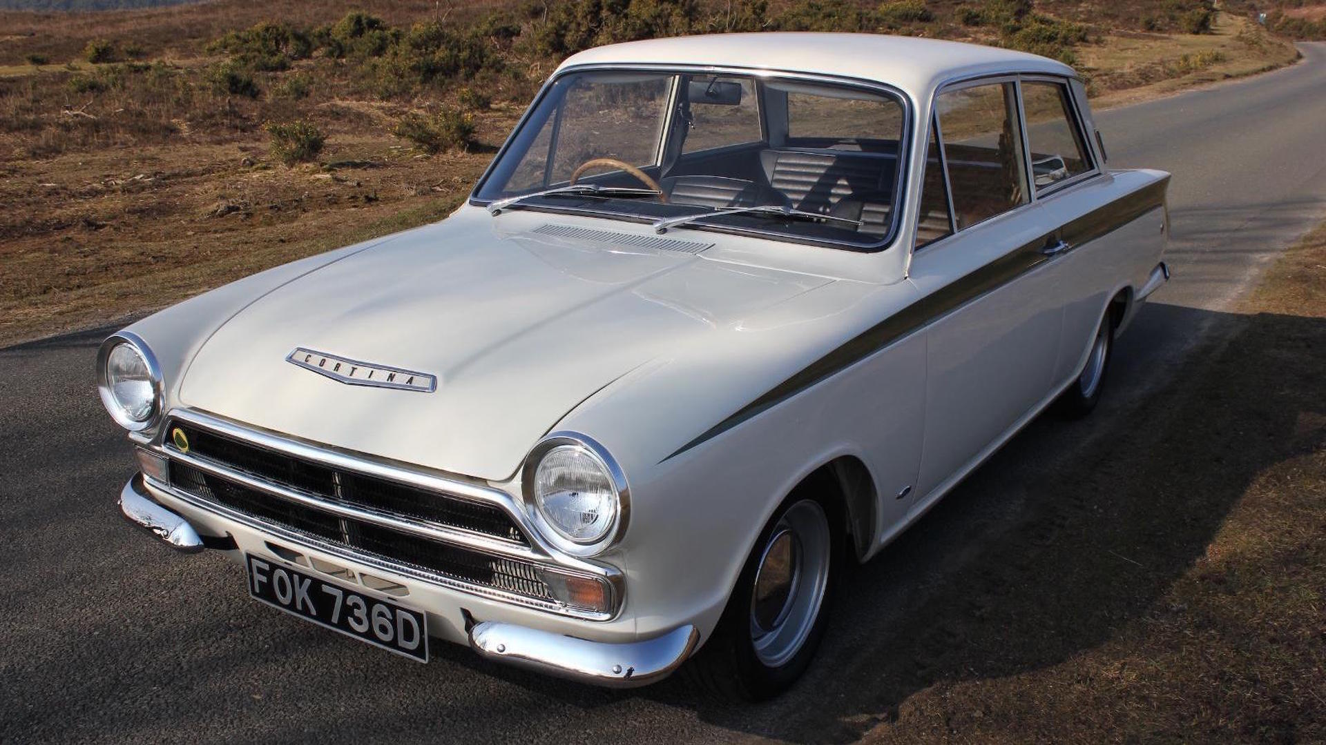 Beautifully restored 1966 Lotus Cortina looking for a new home