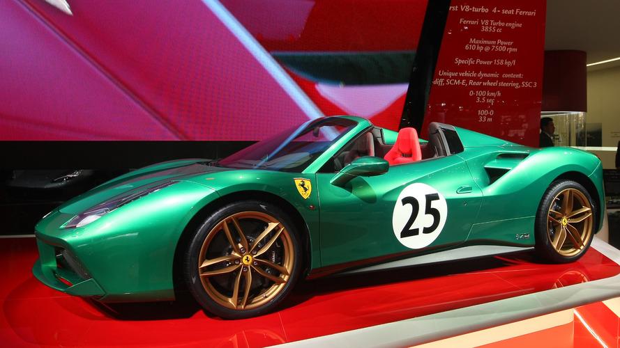 Ferrari présente 5 modèles uniques à l'occasion de ses 70 ans !