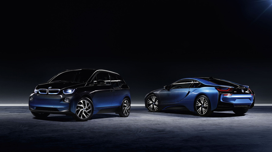 BMW i8 and i3 Crossfade konseptleri