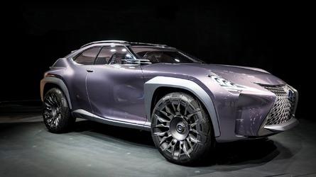 Lexus UX Concept salón de Paris