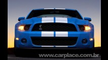 Novo Ford Mustang Shelby GT500 2010 - Musclecar tem motor 5.4l V8 de 547 cv!!