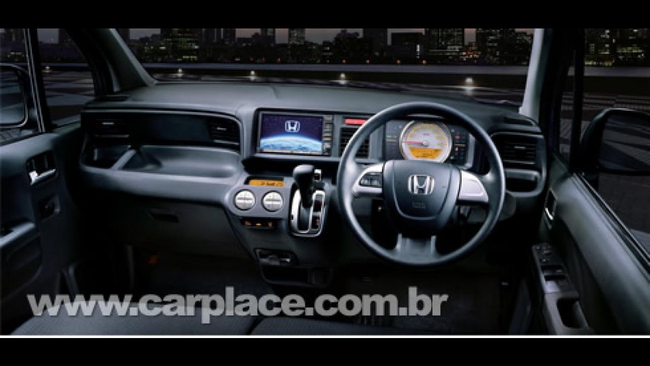 Honda apresenta nova versão do minicarro New Life no Japão