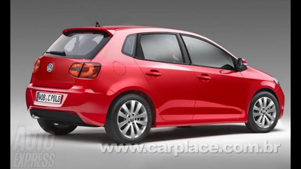Novo Volkswagen Polo - Nova geração deve ser lançada em maio de 2009