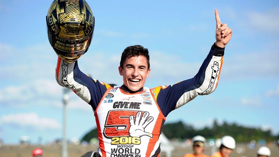 Marc Márquez devient Champion du monde à Motegi