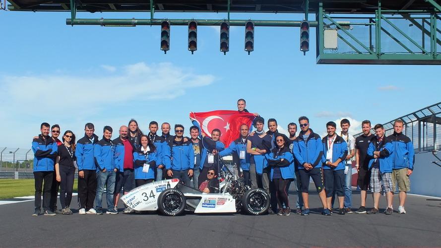 Yıldız Teknik Üniversitesi, Formula Student Almanya'da göz doldurdu