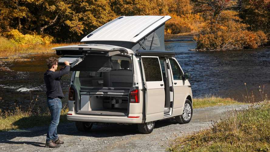 VW California Beach camper costs just over £52,000