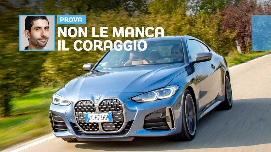 """Nuova BMW Serie 4 coupé, prima prova con il """"grande frontale"""""""