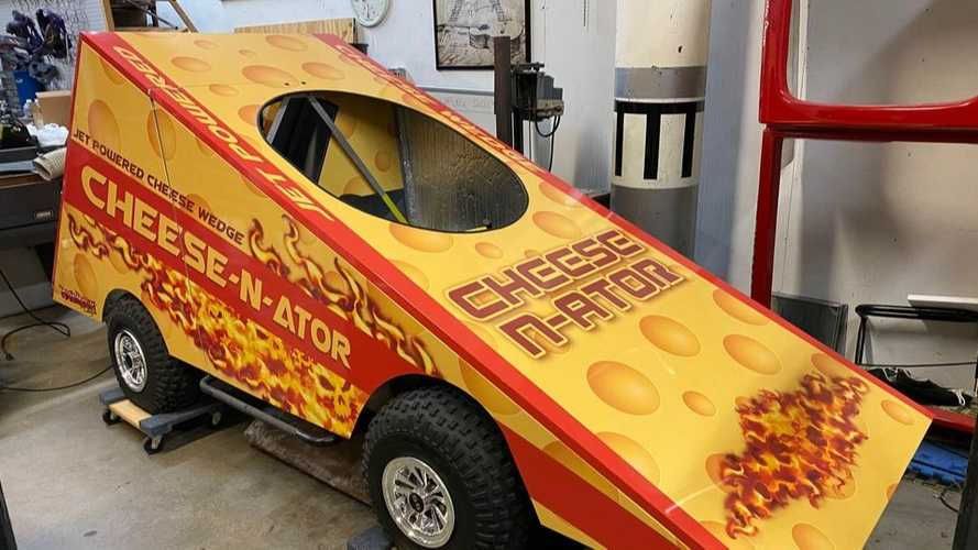 Jet-Powered Cheese Wedge Car For Sale Is Wisconsin At Its Best
