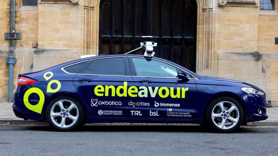 Project Endeavour autonomous vehicle trials