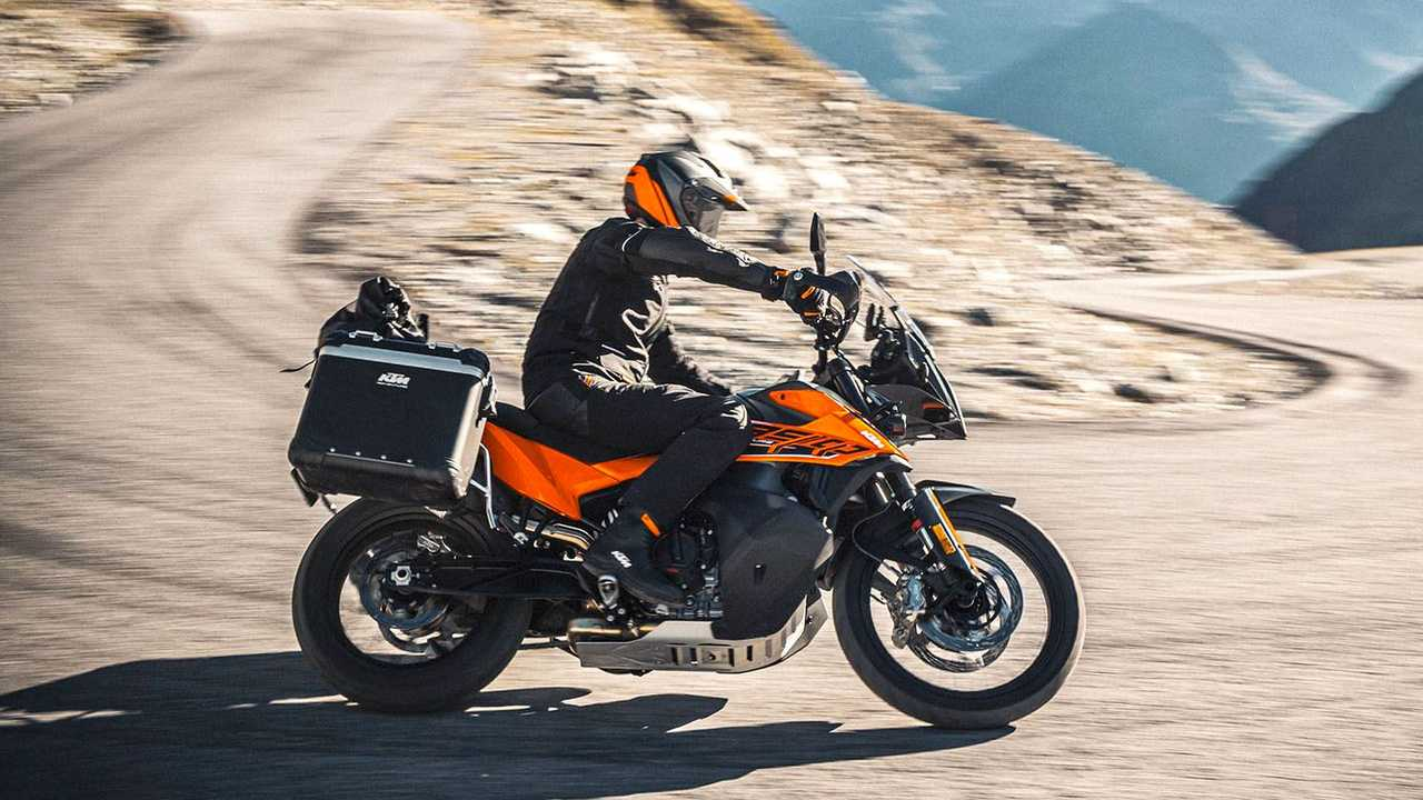 KTM 890 ADVENTURE der Generation 2021