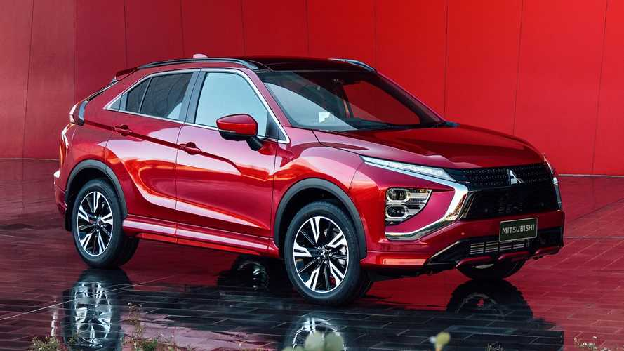 2022 Mitsubishi Eclipse Cross Front Quarter