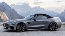2021 Mercedes SL render