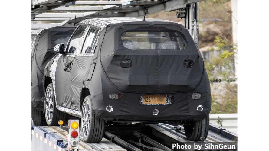 Hyundai 'AX1' Casus Fotoğraflar