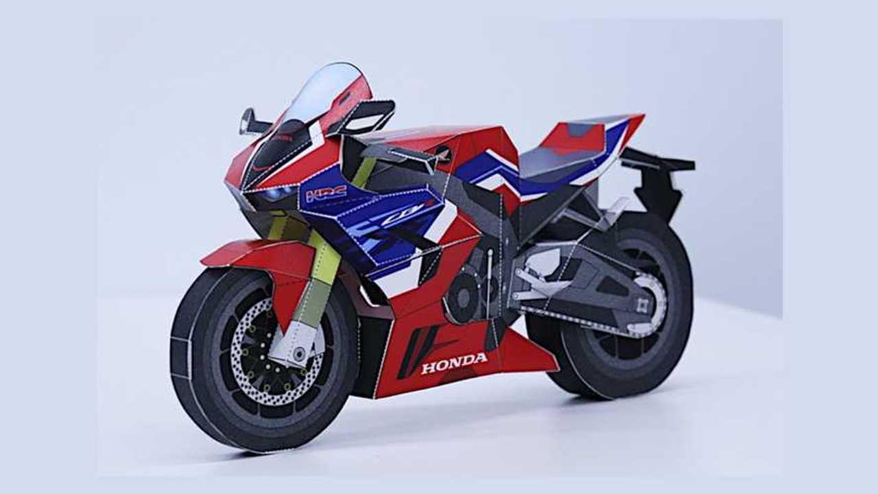 Honda Paper Craft CBR1000RR-R