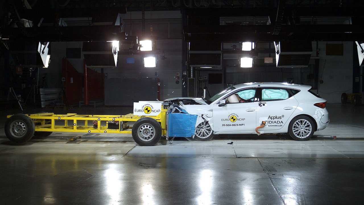 Euro NCAP crash & safety tests of SEAT Leon eHybrid (2020)