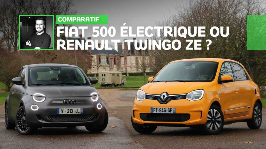 Comparatif - Fiat 500 électrique ou Renault Twingo ZE ?