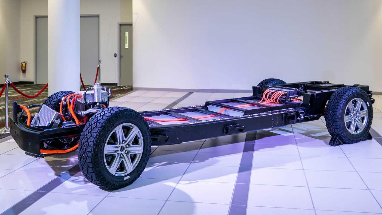 Lordstown Motors Endurance - chassis