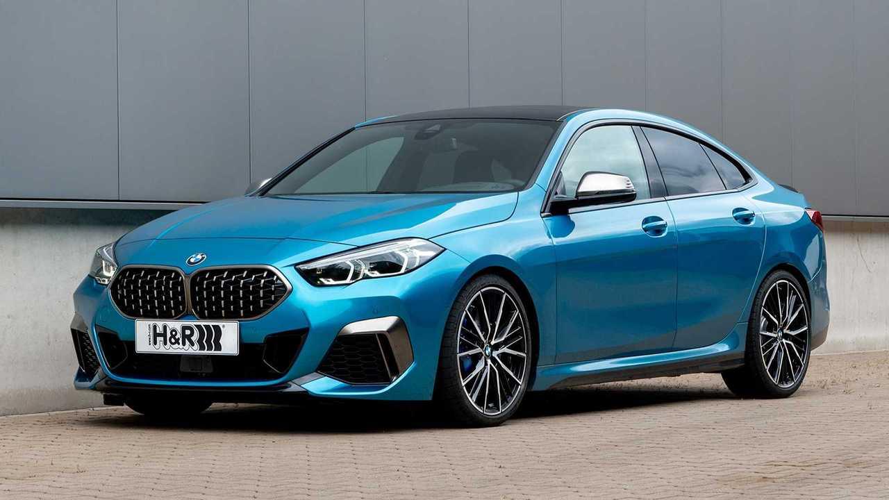 H&R BMW 2er Gran Coupé xDrive: Ansicht von schräg vorne