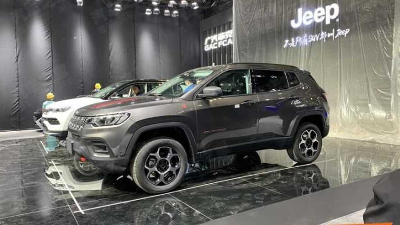 Jeep Compass 2022 - Fotos vazadas na China