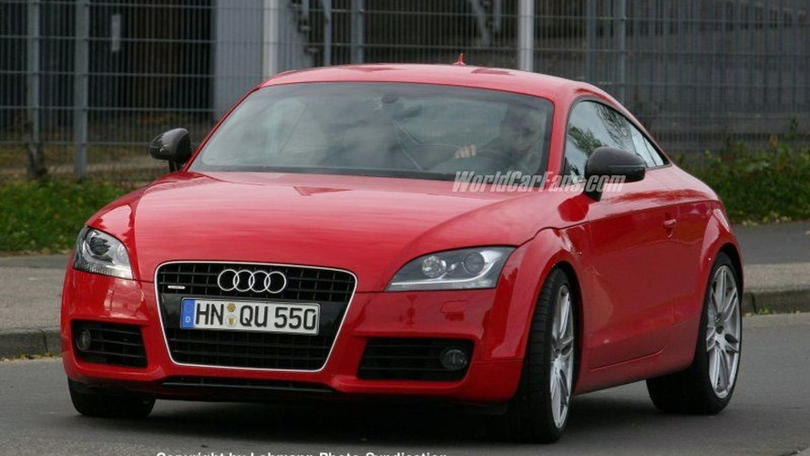 SPY PHOTOS: More Audi TT RS