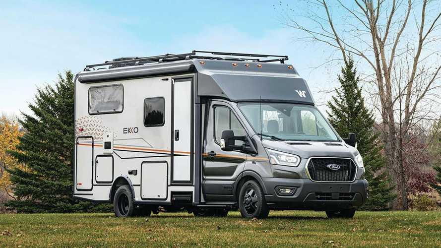 Este Ford Transit es la autocaravana 4x4 de tus sueños
