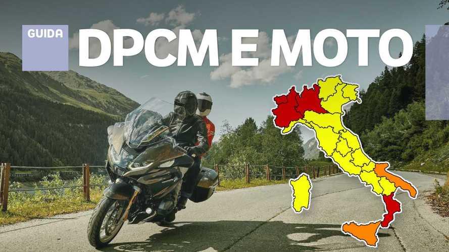 Coronavirus, nuovo DPCM: cosa cambia per i motociclisti italiani