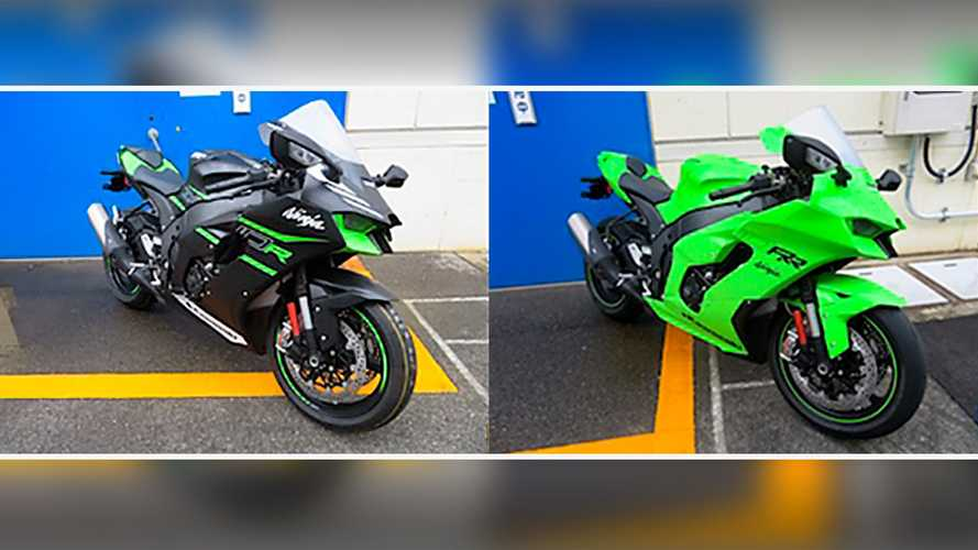 Kawasaki ZX-10R e ZX-10RR 2021, le prime immagini dall'Australia