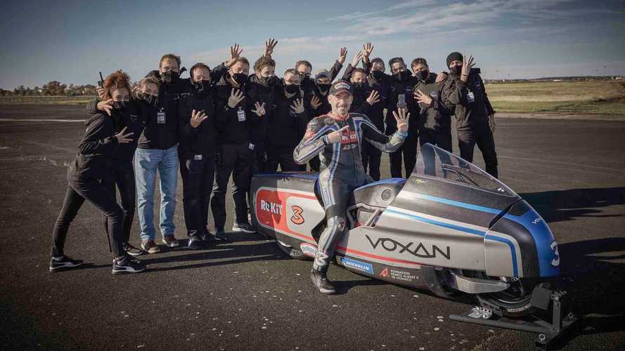 Voxan Just Set Eleven New Electric Speed Records