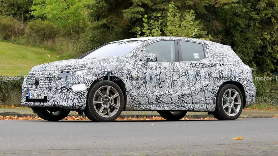 Mercedes EQS SUV Begins To Take Shape In New Spy Photos